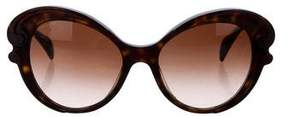 Prada Gradient Oversized Sunglasses