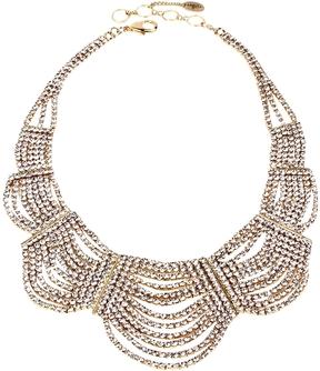 Amrita Singh Women's Sirena Crystal Bib Necklace