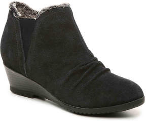 Sporto Women's Drape Wedge Bootie