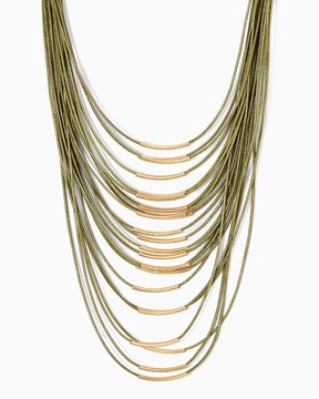 Charming charlie Coralie Swag Necklace