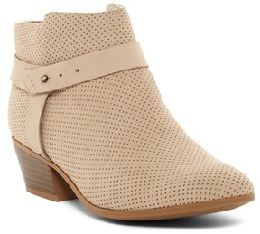 Clarks Boylan Dawn Perforated Ankle Boot