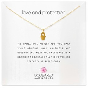 Dogeared Women's Love & Protection Pendant Necklace