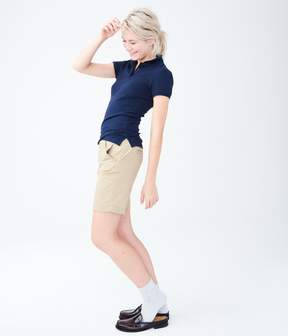 Aeropostale Solid Uniform Bermuda Shorts***