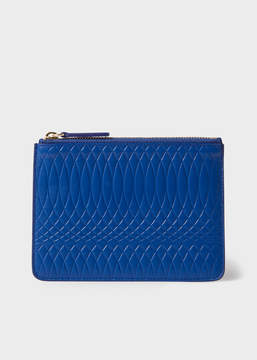 Paul Smith No.9 - Blue Leather Zip Pouch
