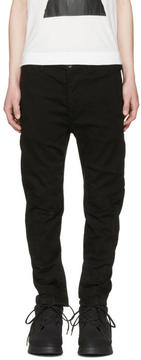 Julius Black Zip Cuff Jeans