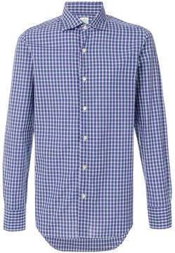 Finamore 1925 Napoli checked button-down shirt