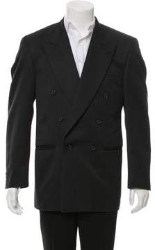 Hardy Amies Double-Breasted Wool Blazer