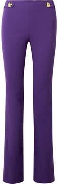 Emilio Pucci Wool-blend Slim-leg Pants - Purple