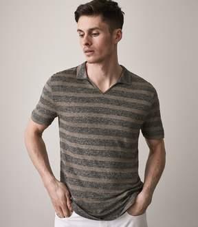 Reiss Rodney Open Collar Polo Shirt
