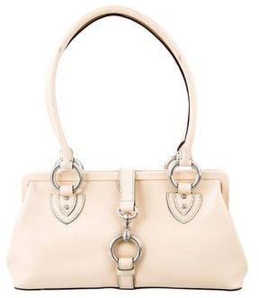Marc Jacobs Leather Shoulder Bag - NEUTRALS - STYLE