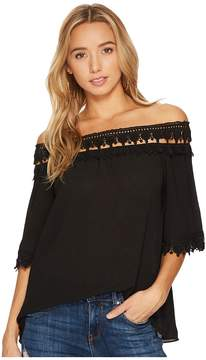 Bishop + Young Olivia Off Shoulder Blouse Women's Blouse