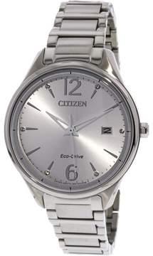 Citizen Women's FE6100-59A Silver Stainless-Steel Japanese Quartz Fashion Watch