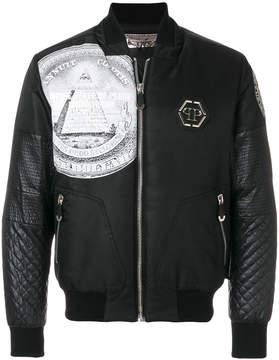 Philipp Plein Sunday bomber jacket