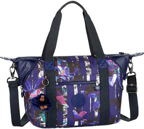 Kipling Art small nylon tote bag - URBAN FLOWER BL - STYLE