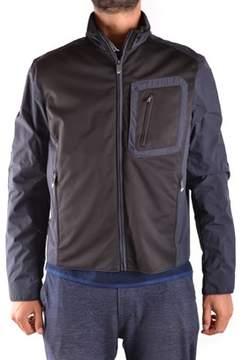 Paul & Shark Men's Black Polyamide Outerwear Jacket.