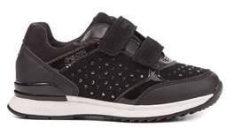 Geox Girls' Maisie Suede Sneaker.