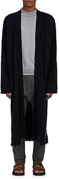 NSF Men's Frayed Cotton-Blend Long Cardigan