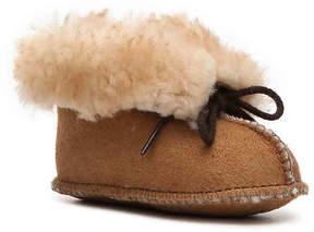 Minnetonka Girls Genuine Sheepskin Infant & Toddler Boot