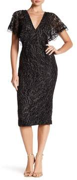 Dress the Population Lidia V-Neck Lace Dress
