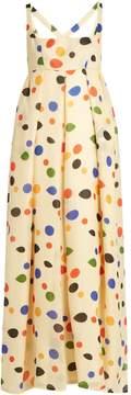Emilia Wickstead Trudy Tear empire-waist silk gown