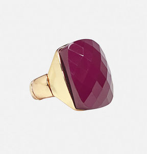 Avenue Burgundy Cocktail Ring