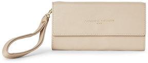 adrienne vittadini Sand Phone Wristlet Wallet