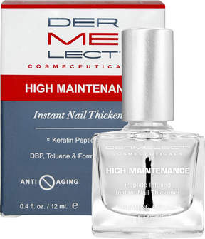 Dermelect High Maintenance Peptide Infused Instant Nail Thickener Top Coat