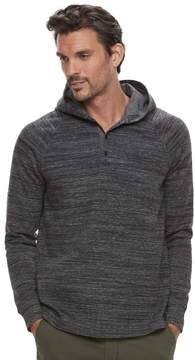 Marc Anthony Men's Slim-Fit Texture-Striped Henley Hoodie