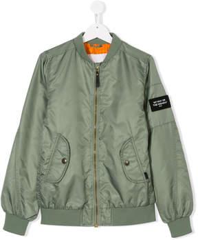 Molo TEEN zipped bomber jacket