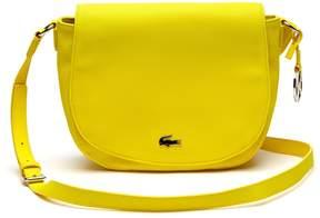 Lacoste Women's Daily Classic Fine Pique Grains Flap Crossover Bag