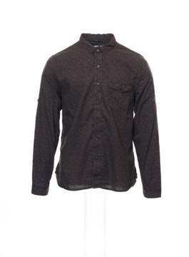 Converse Black Canvas Men's Burgundy Floral Button Down Shirt