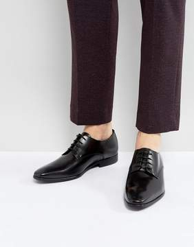 Zign Shoes Leather Lace Up Derby Shoes