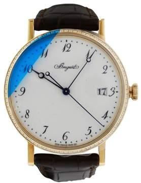 Breguet Classique Automatic Diamond Bezel Yellow Gold 5178BA/29/9V6 Watch