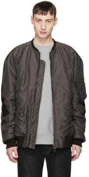 Facetasm Brown Big MA-1 Bomber Jacket