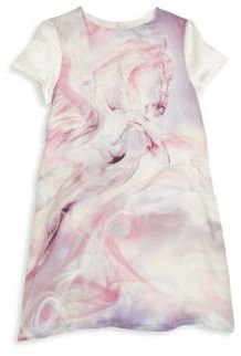 Roberto Cavalli Toddler's, Little Girl's & Girl's Silk Horse Printed Dress