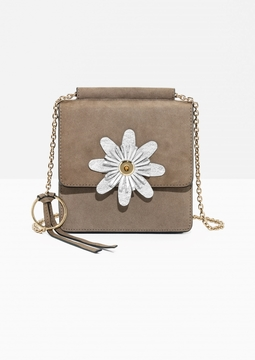 Daisy Mini Suede Bag
