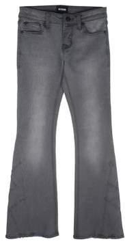 Hudson Little Girl's & Girl's Patchwork Flare Jeans