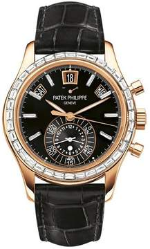 Patek Philippe Complications Chronograph Annual Calendar Automatic Gold Diamond Men's Watch