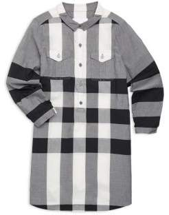 Burberry Little Girl's& Girl's Darielle Plaid Shirtdress