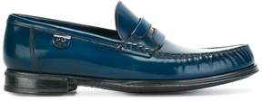 Dolce & Gabbana brushed leather moccasins