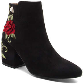 Qupid Black Teagan Bootie - Women