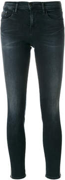 CK Calvin Klein embroidered side skinny jeans