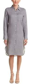 Allen Allen Linen Shirtdress.