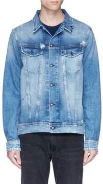 Denham Jeans 'Amsterdam' distressed denim jacket