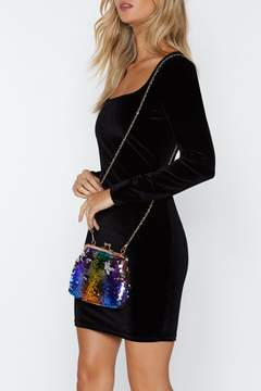 Nasty Gal WANT Life of the Party Sequin Crossbody Bag
