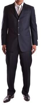 Armani Collezioni Men's Black Wool Suit.