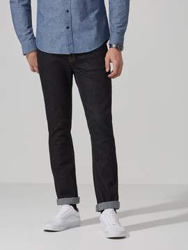 Frank and Oak The Dylan Slim-Stretch Denim in Dark Blue