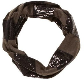 Alice + Olivia Sequined Wool-Blend Scarf