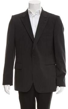 Calvin Klein Collection Wool One-Button Blazer