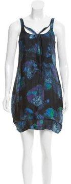 Emporio Armani Abstract Sheath Dress w/ Tags